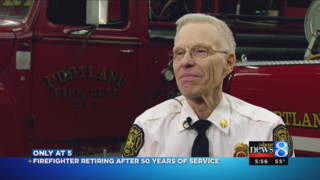 Longtime Portland Firefighter Retires