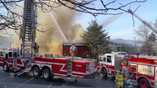 Four-alarm Fire Destroys N.J. Supermarket