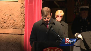 Ceremony Honors Fallen Boston Heroes
