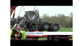 Fiery Rig Crash Claims Three in Md.