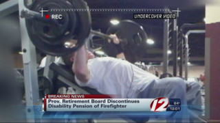 Pension Discontinued For Former Providence Firefighter