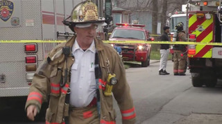 Buffalo Firefighters Hurt at Fire
