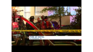 Electrical Fire Spreads in Va. Hotel