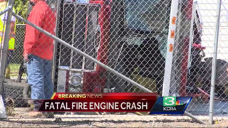 Civilian Killed in Calif. Fire Engine Crash