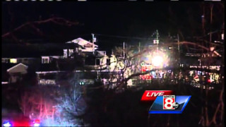 Flames Destroy Maine Business, Homes