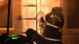 Multiple Structures Burned in Baltimore