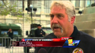Baltimore IAFF Official Pleads for Calm