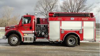 Duval, W.Va., Volunteers Get Commercial Pumper