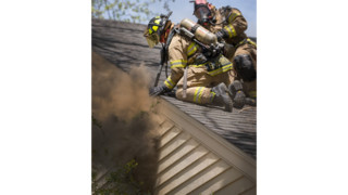 Photo Story: Texas House Fire Halted