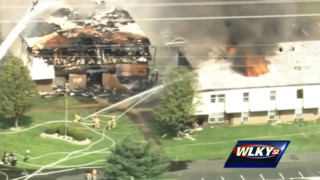 Fire Devastates Indiana Apartment Complex