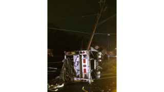 Md. Fire Truck Crashes; Firefighters Hurt
