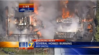 Fire Spreads to Several Homes in Seattle