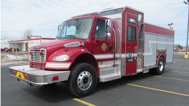 E-ONE to Show Off Enclosed Pumper at FDIC