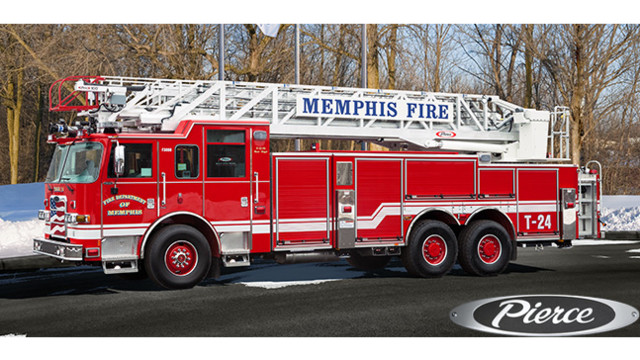 Memphis, Tenn., Fire Dept. Gets New 100-foot Aerial Built by Pierce ...