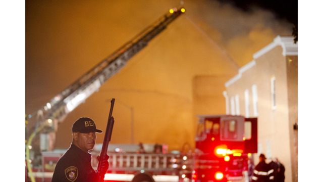 Baltimore IAFF Official: 'It was a war zone'