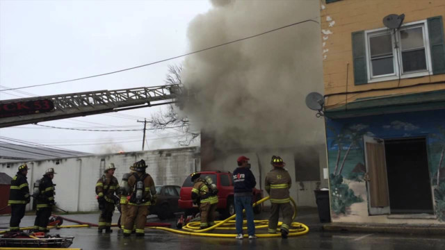 Pa. Lumber Business Hit by Fire