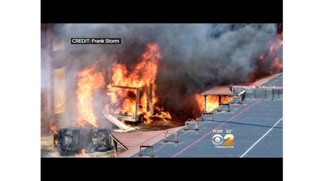 Queens Residents Say Blast for TV Show Damaged Homes