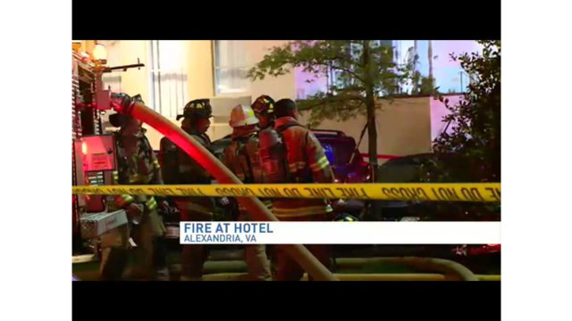 Va. Hotel Fire Forces 200 Guests Out