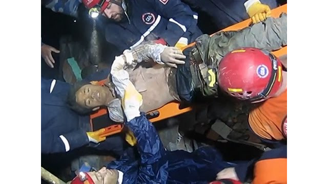 Man Rescued From Nepal Rubble