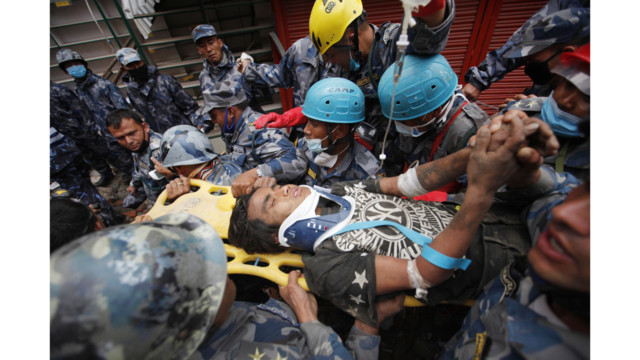 U.S. Task Forces Aid in Rescuing Teen in Nepal Rubble