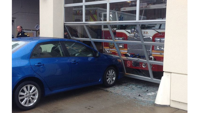 Man Deliberately Drives into Va. Fire Station