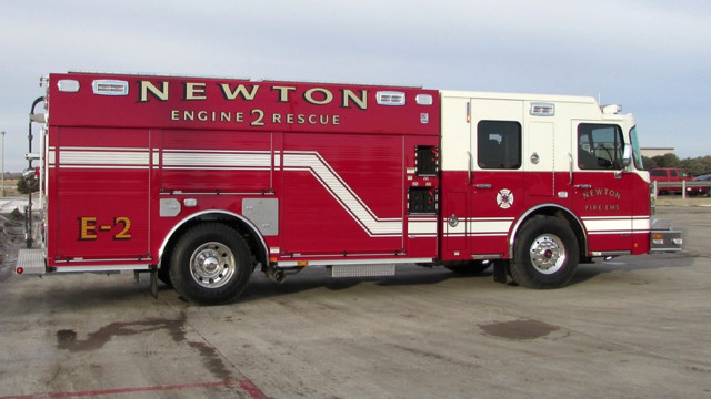 Engine 2 Goes in Service With Newton, Kan., Firefighters