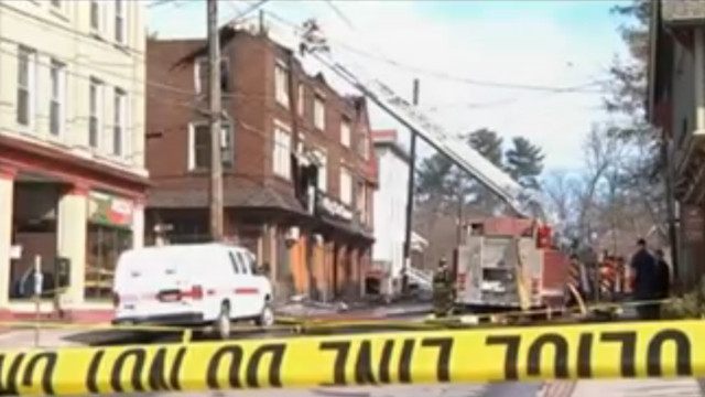 Popular N.Y. College Town Pub Burns