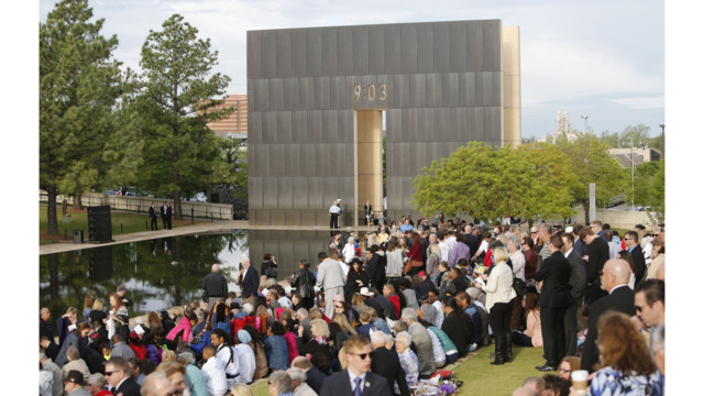 America Pauses to Remember Oklahoma City Bombing Victims