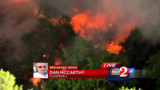 Brush Fire Burns Fla. Buildings