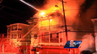 Man Escapes Four-alarm Mass. Fire