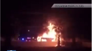 Fire Officials Investigate Deadly Vegas RV Fire