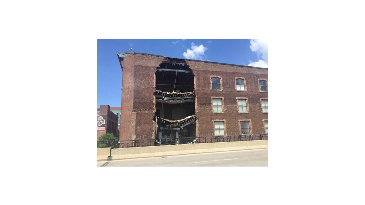 Landing Building Collapses