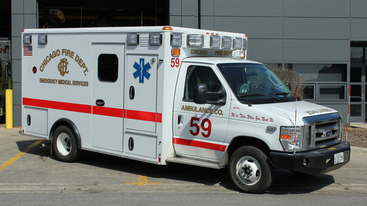 Chicago Fire Gets New Type III Ambulance Built by Wheeled Coach