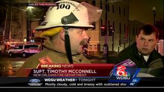 Six-Alarmer Battled in New Orleans