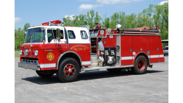 chassis was the backbone of many fire department fleets  Bowmansville