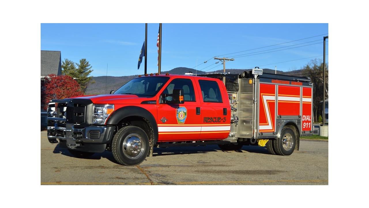 Moultonborough N H Fire Department Puts Mini Pumper In