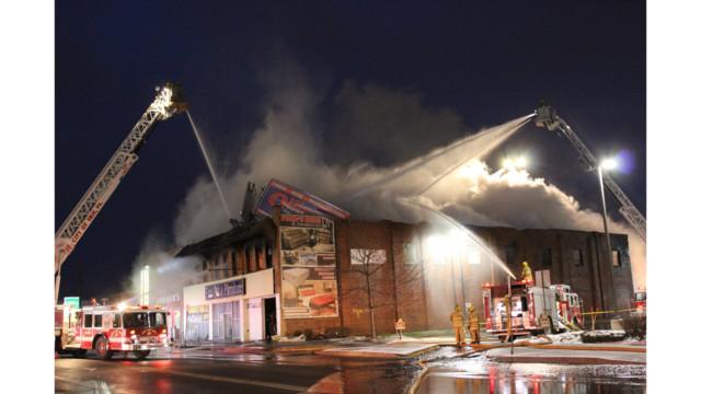 Firefighter News Photos Erie Firefighters Battle Bed