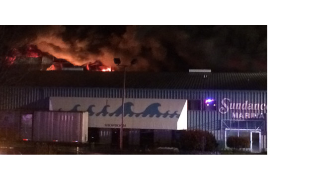 Approximately 50 boats destroyed by massive fire at Urbanna marina