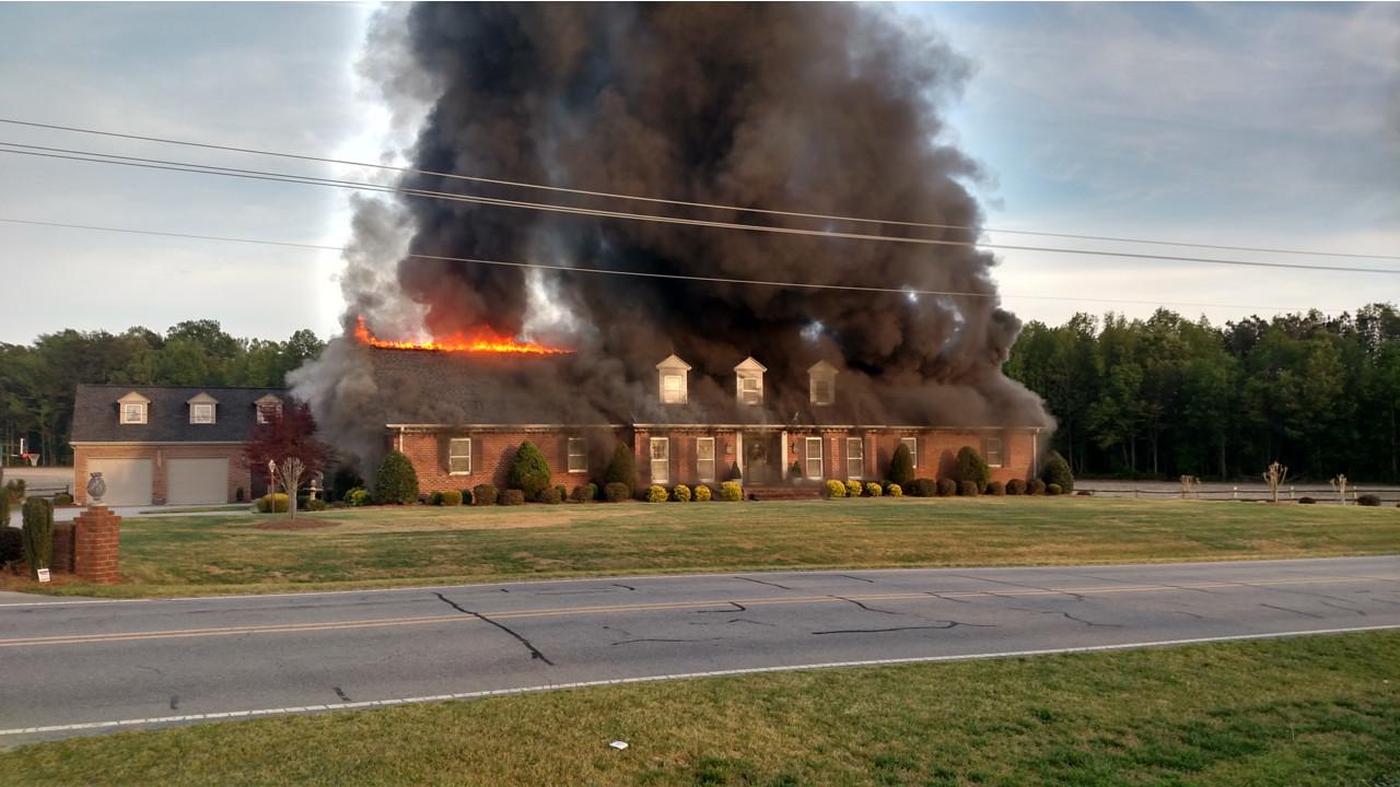 April Calendar Nashville : Fire scene photo nashville n c house firehouse