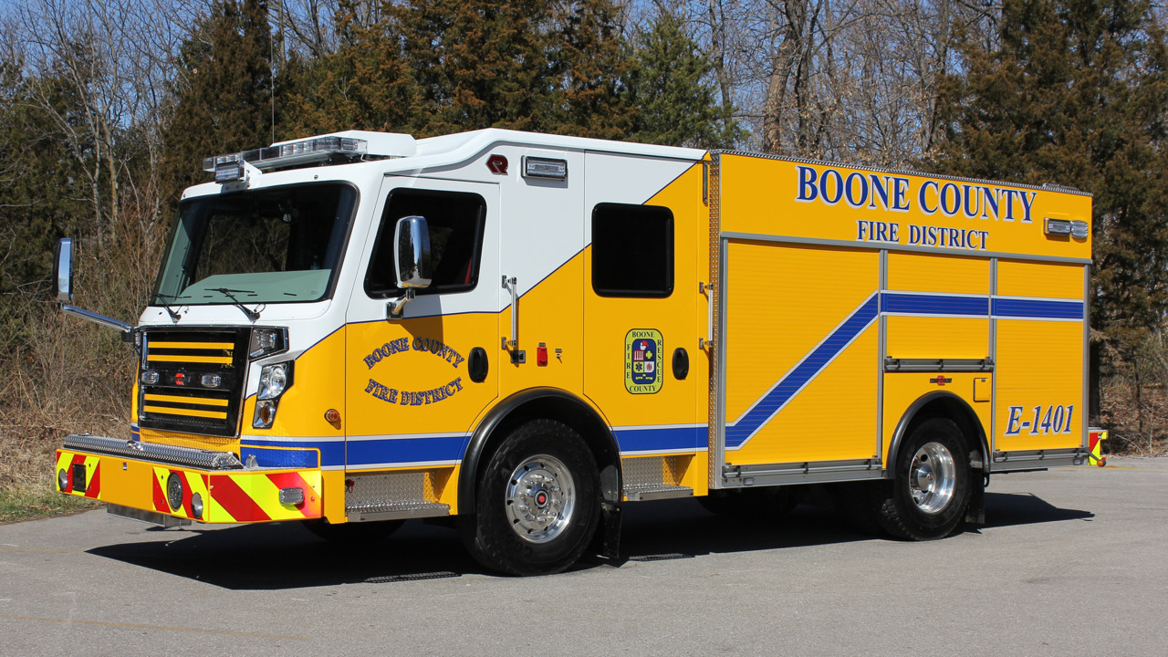Boone County Mo Fire District Gets New Pumper Built By