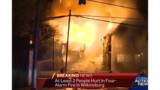 Five Pa. Homes Destroyed by Fire