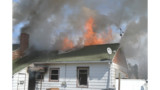 N.Y. Crews Hit House Fire