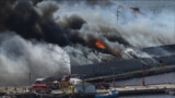 Blaze Destroys Fish Plant in Canada