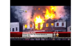 Fire Rages In Jersey City