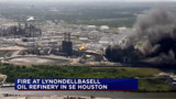 Fire Hits Houston Oil Refinery, Residents Told to Shelter in Place
