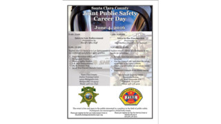 Santa Clara County Joint Public Safety Career Day