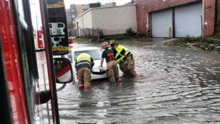 Photos: New Orleans Crews Help Stranded Motorists