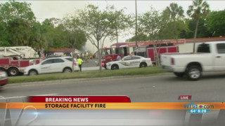 Fire Damages Fla. Storage Facility