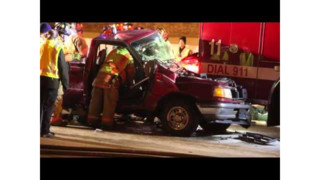 Mich. Fire Truck Hit at Incident