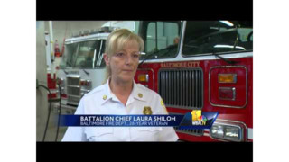 Women Discuss Leadership Roles in Baltimore Fire Dept.